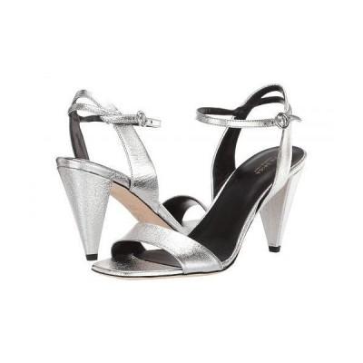 Via Spiga ヴィアスピーガ レディース 女性用 シューズ 靴 ヒール Ria - Silver Nugget Metallic Leather