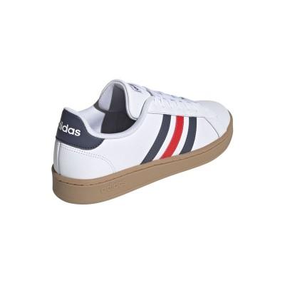 送料無料!アディダス adidas スニーカー メンズ・ユニセックス AJP-EE7888 GRANDCOURT LEA U (EE7888)フットウェアホワイト/トレースブルー/アクティブレッド 22.0~29.0cm レディース レディス 靴 シューズ 20SS(26.0)