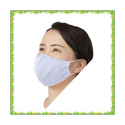 フットマーク(Footmark) 急速冷感 クーリッシュ サマーマスク SP 【日本製】 シロ/グレー M 211115
