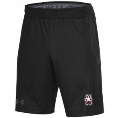 Under Armour アンダー アーマー スポーツ用品  Under Armour Southern Illinois Salukis Black MK-1 Shorts
