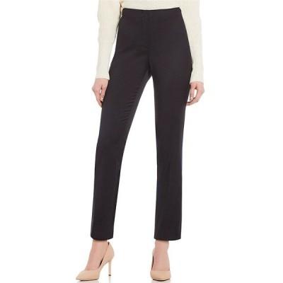 アントニオメラニー レディース カジュアルパンツ ボトムス Made with Loro Piana Fabric Theo Straight Leg Pants Black