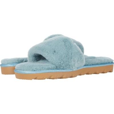 チャイニーズランドリー Chinese Laundry レディース シューズ・靴 Rally Mint Blue Faux Fur