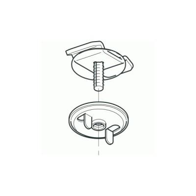 ネグロス電工 S-DK1-6 【1個単位】 開口下向き用器具取付金具(ステンレス鋼)
