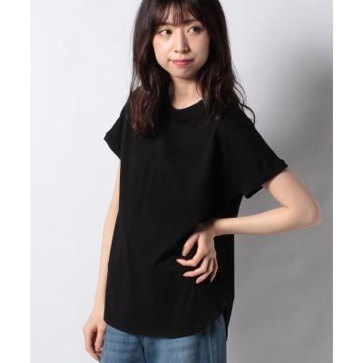 Gready Brilliant Cジャージー裾ラウンドT(ブラック)