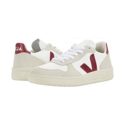 VEJA レディース 女性用 シューズ 靴 スニーカー 運動靴 V-10 - B-Mesh White/Natural/Marsala