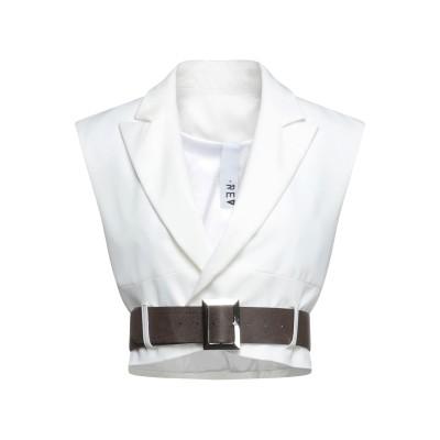 REVISE テーラードジャケット ホワイト XS ポリエステル 90% / ポリウレタン 10% テーラードジャケット
