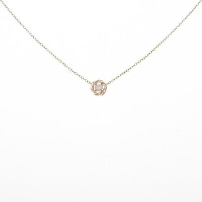 K10PG/K10YG ダイヤモンドネックレス