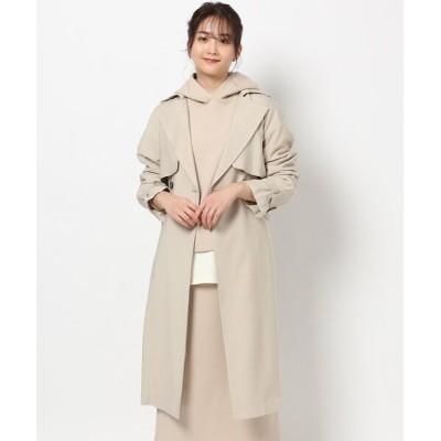コート トレンチコート 【防花粉加工付き】ビッグカラートレンチコート