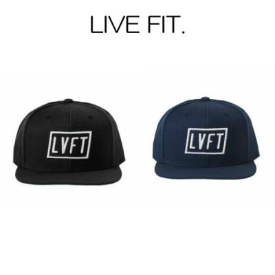 リブフィット LIVE FIT Tilt Snapback スナップバック キャップ メンズ 筋トレ ジム ウエア スポーツウェア 正規品[衣類]