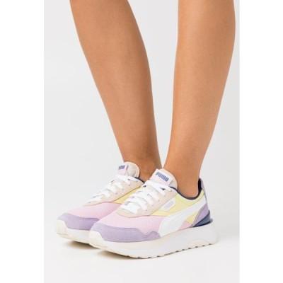 プーマ レディース 靴 シューズ CRUISE RIDER SILK ROAD - Trainers - pink lady/yellow pear