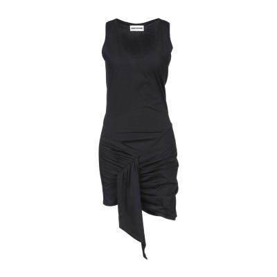 イーチ×アザー EACH X OTHER ミニワンピース&ドレス ブラック S コットン 100% ミニワンピース&ドレス