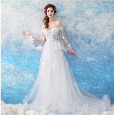 オフショルダーdressセクシー★パーティードレス 結婚式 大きいサイズ お呼ばれ 二次会ウエディングドレス 成人式 着痩せ20代40代30代