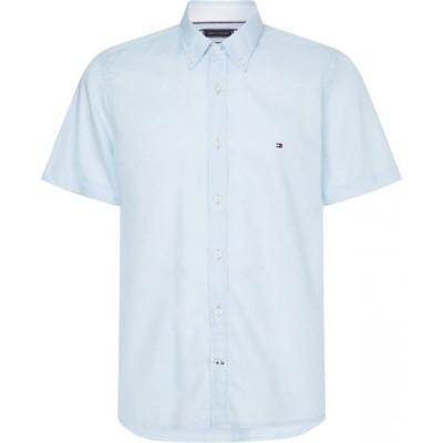 トミー ヒルフィガー Tommy Hilfiger メンズ シャツ ワイシャツ トップス Oxford Shirt Calm Blue CS