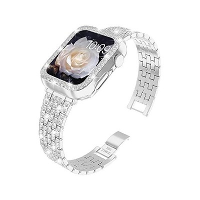 QVLANG Apple Watch用バンド 38mm 40mm 42mm 44mm シリーズ 6/5/4/3/2/1/SE ブリングシリーズバンド