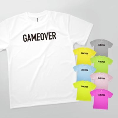 Tシャツ ゲームオーバー