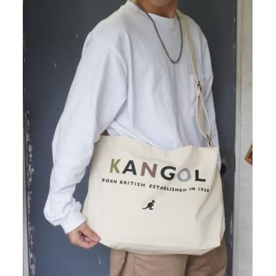 Port / 【 KANGOL / カンゴール 】キャンバス ショルダー トートバッグ L WOMEN バッグ > ショルダーバッグ