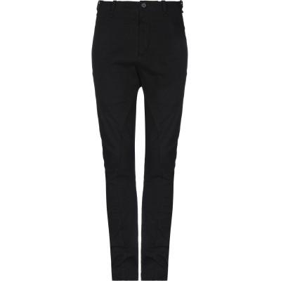 マスナダ MASNADA パンツ ブラック 48 コットン 98% / ポリウレタン 2% パンツ