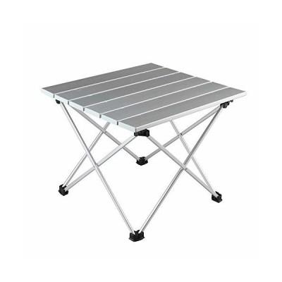 Arc Light 折りたたみテーブル ロールテーブル アルミ製 コンパクト ハイキング 収納ケース付き軽量 折り畳みテ
