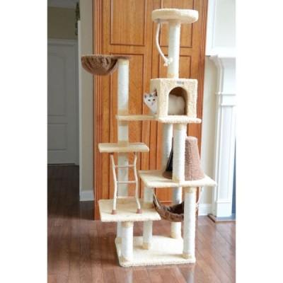 Armarkat アーマーカット ペットグッズ 猫用品 Premium Cat Tree Model X7805 78in Tan