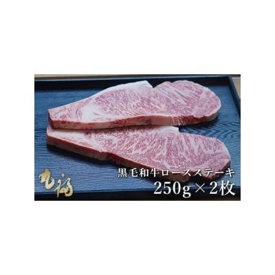 ふるさと納税 BG01◇淡路和牛ロースステーキ 500g(250g×2枚) 兵庫県洲本市