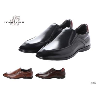 madras マドラス M432 メンズ レースアップスニーカー ビジネス カジュアル シューズ 靴