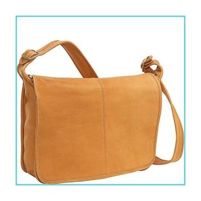 Le Donne Leather Classic Messenger (Tan)【並行輸入品】
