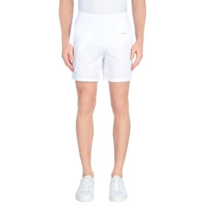 OFF-WHITE™ バミューダパンツ ホワイト S ポリエステル 100% バミューダパンツ
