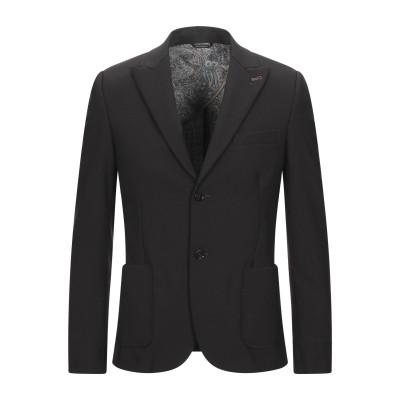 ダニエル アレッサンドリーニ DANIELE ALESSANDRINI テーラードジャケット ダークブラウン 46 ウール 55% / ポリエステル