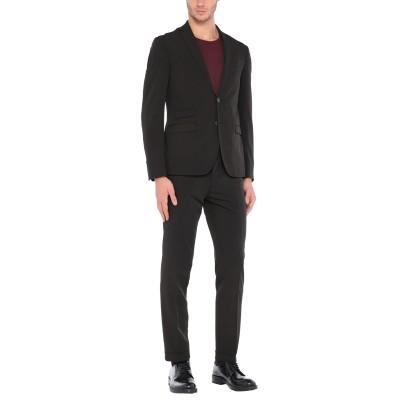 DOMENICO TAGLIENTE スーツ ブラック 54 ポリエステル 94% / ポリウレタン 6% スーツ