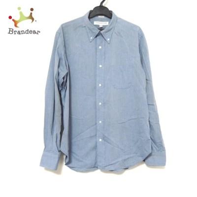 インディビジュアライズドシャツ Individualized Shirts サイズ16  33 メンズ - 訳あり ブルー  値下げ 20210714