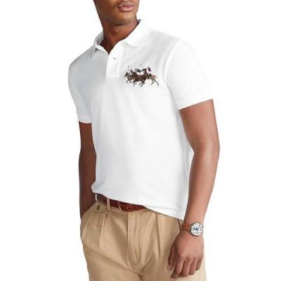 ラルフローレン メンズ ポロシャツ トップス Custom Slim Fit Mesh Polo Shirt