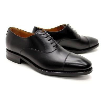 ビジネスシューズ 本革 ストレートチップ キャップトゥ メンズ 革靴 本革 ビジネスシューズ クインクラシコ ドレスシューズ 4276dbk ブラック(黒) キャップトゥ