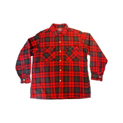 【PENDLETON】<br>ペンドルトン(M)<br>バージンウールシャツ【中古】