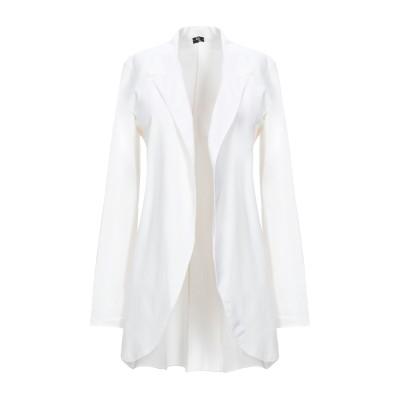 AMAMI テーラードジャケット ホワイト M コットン 95% / ポリウレタン 5% テーラードジャケット