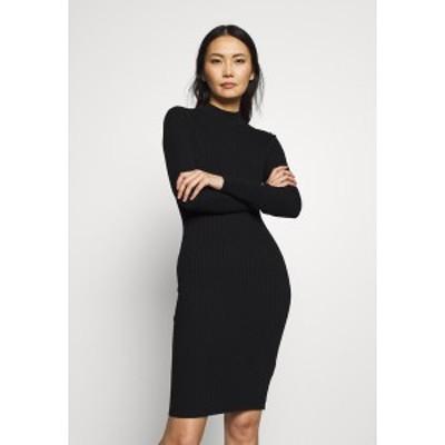 アンナフィールド レディース ワンピース トップス Jumper dress - black black
