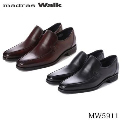 マドラスウォーク madras Walk メンズ ビジネスシューズ ゴアテックス スクエアトウの甲ゴムヴァンプ ビジネスシューズ MW5911 MADMW5911 国内正規品