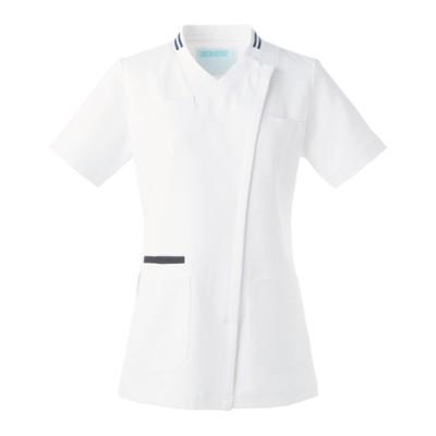 036 KAZEN レディススクラブ ナースウェア・白衣・介護ウェア