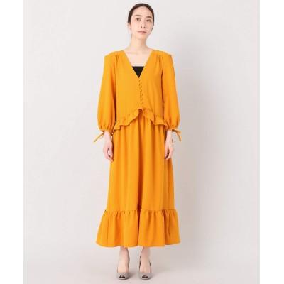 レディース プラージュ PERSEVERANCE TEARD ドレス オレンジ A フリー