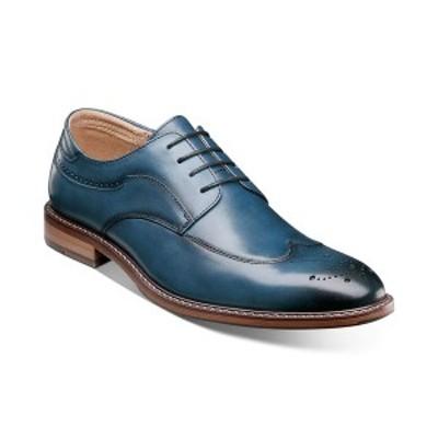 ステイシーアダムス メンズ ドレスシューズ シューズ Men's Fletcher Wingtip Oxford Shoes Indigo