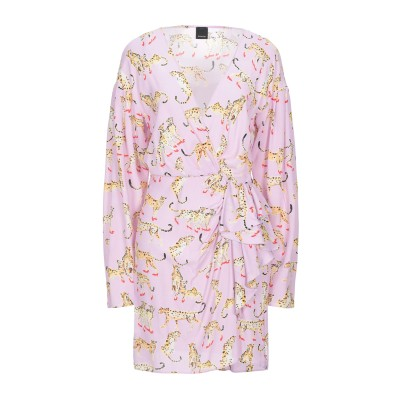 ピンコ PINKO ミニワンピース&ドレス ピンク 44 レーヨン 100% ミニワンピース&ドレス