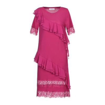 ANNA RACHELE ミニワンピース&ドレス モーブ 44 レーヨン 100% ミニワンピース&ドレス