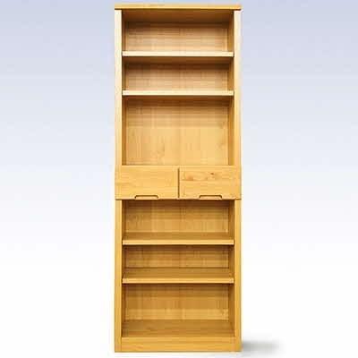 無垢材を使用した書棚 60書棚NA【諸富家具】