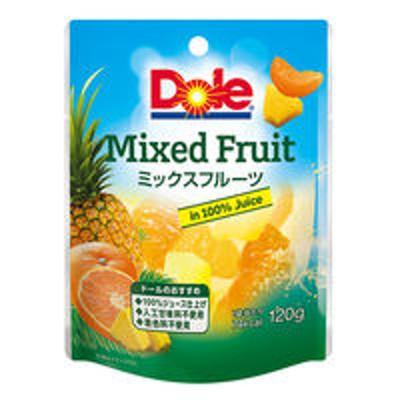 ドールドール フルーツパウチ ミックスフルーツ 120g 1セット(3個)