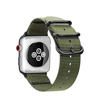 【KANDOX】For Apple Watch バンド Fintie 編みナイロン 時計バンド 交換ベルト アップルウォッチ交換ストラップ iWatc