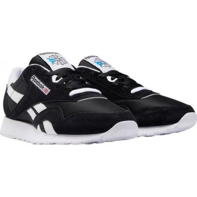 リーボック REEBOK メンズ スニーカー シューズ・靴 Classic Nylon Sneaker Black/Black
