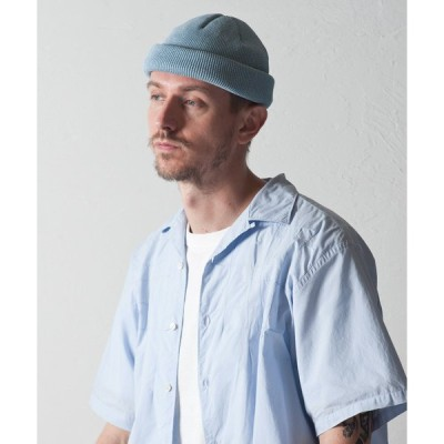 帽子 キャップ Roll Knit Cap : Japanese Paper / 和紙 ロールニットキャップ