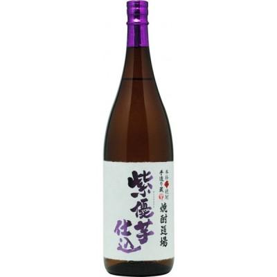 数量限定品 焼酎道場 紫優芋仕込(芋焼酎)25度 1800ml