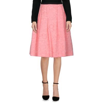 アーデム ERDEM ひざ丈スカート ピンク 10 コットン 47% / ポリエステル 45% / ナイロン 8% ひざ丈スカート