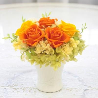 プリザーブドフラワー ギフト プレゼント 誕生日 女性 結婚祝い 花 父の日 可愛い バラ アレンジメント Viviana(ヴィヴィアナ)