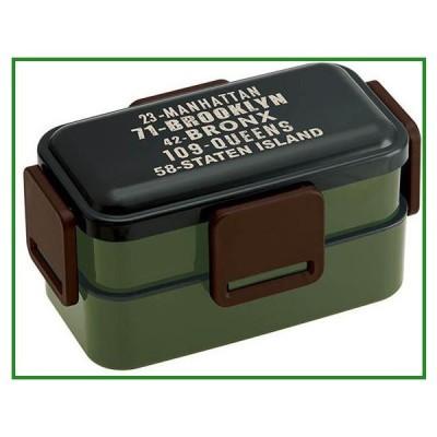 pos.367403 ふわっと2段弁当箱 ブルックリン PFLW9|b03